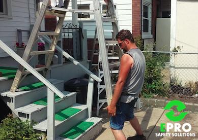 #EPROSafety #Unsafe #Fail #Ladder | Unsafe / Safety Fails ...