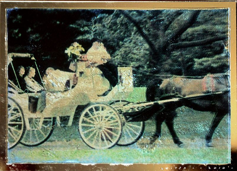 Tutorial on photo-to-glass image transfer with step-by-step instructions