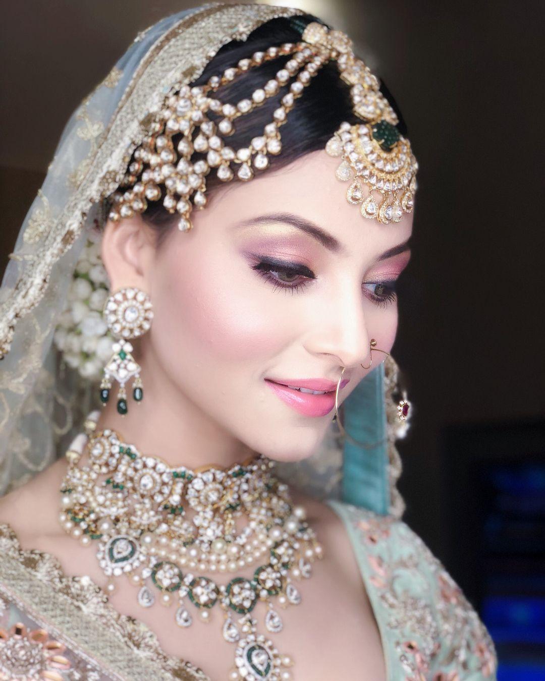 Bridal look | Urvashi rautela | Pinterest