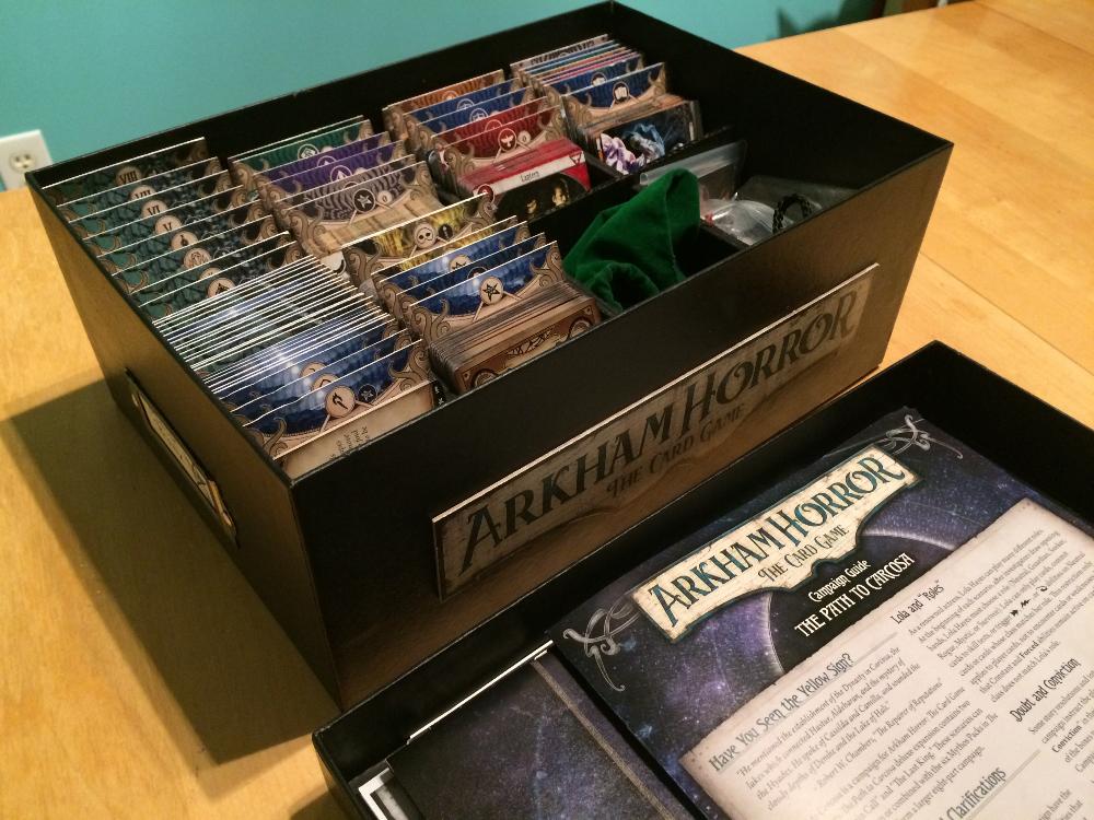 Arkham Horror Lcg Storage Solution Storage Solutions Diy Game Storage Diy Horror Card