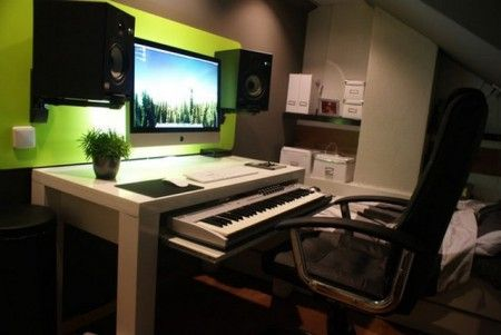 Home Studio Desk Ikea Workspacestudio In 2019 Home Studio Desk