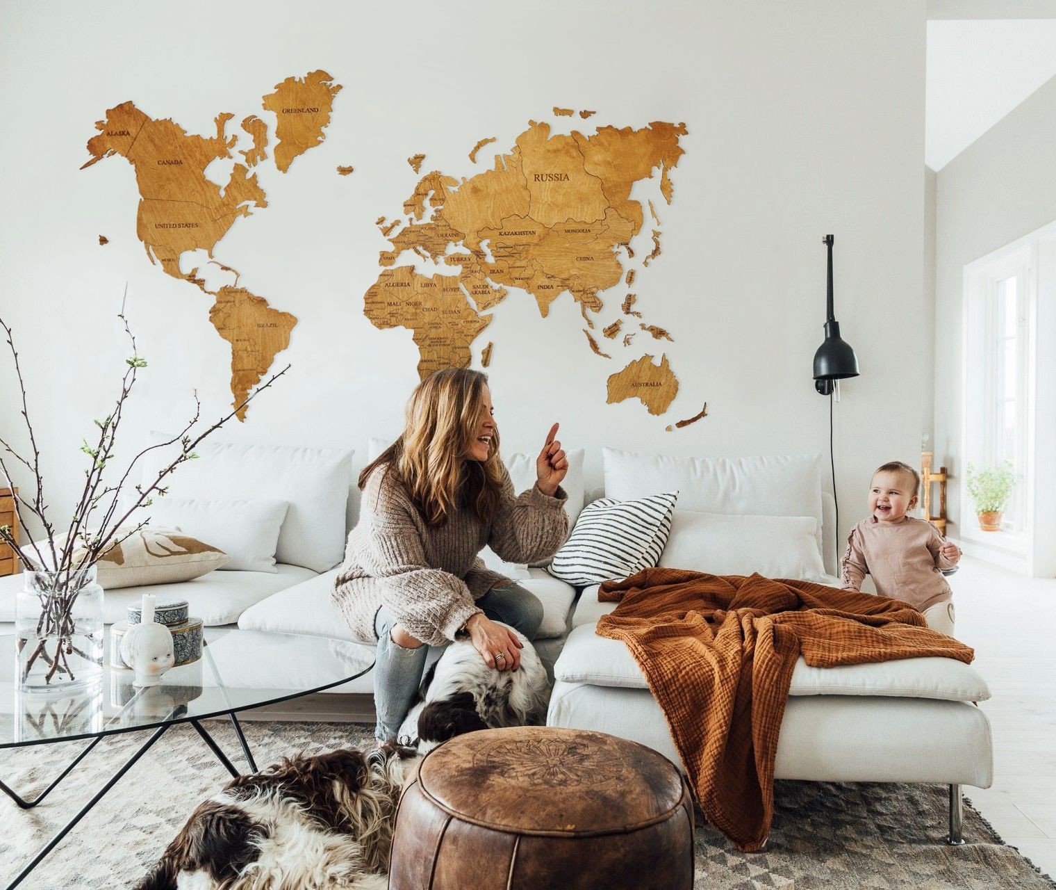 Rustic Wall Map World Travel Map World Map Wall Art World Map Etsy In 2020 Living Room Decor Rustic Map Decor Home Decor Paintings #rustic #paintings #for #living #room