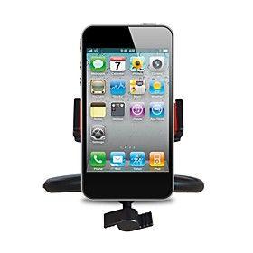 APPS2CAR InCar Cd Slot supporto del supporto con 57 millimetri per 90 millimetri Larghezza del supporto regolabile per iPhone APPS2CAR supporto veicolare