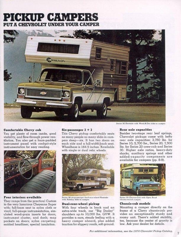 1974 Chevy Recreation 07 Chevy Customised Trucks Chevrolet Pickup