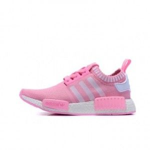 adidas Women Originals NMD Runner Primeknit Pink Sneakers,Running Shoes For  Sale