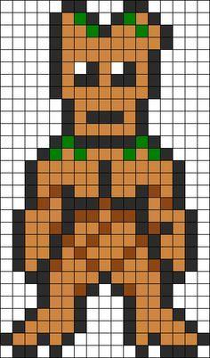 Pixel Art Groot