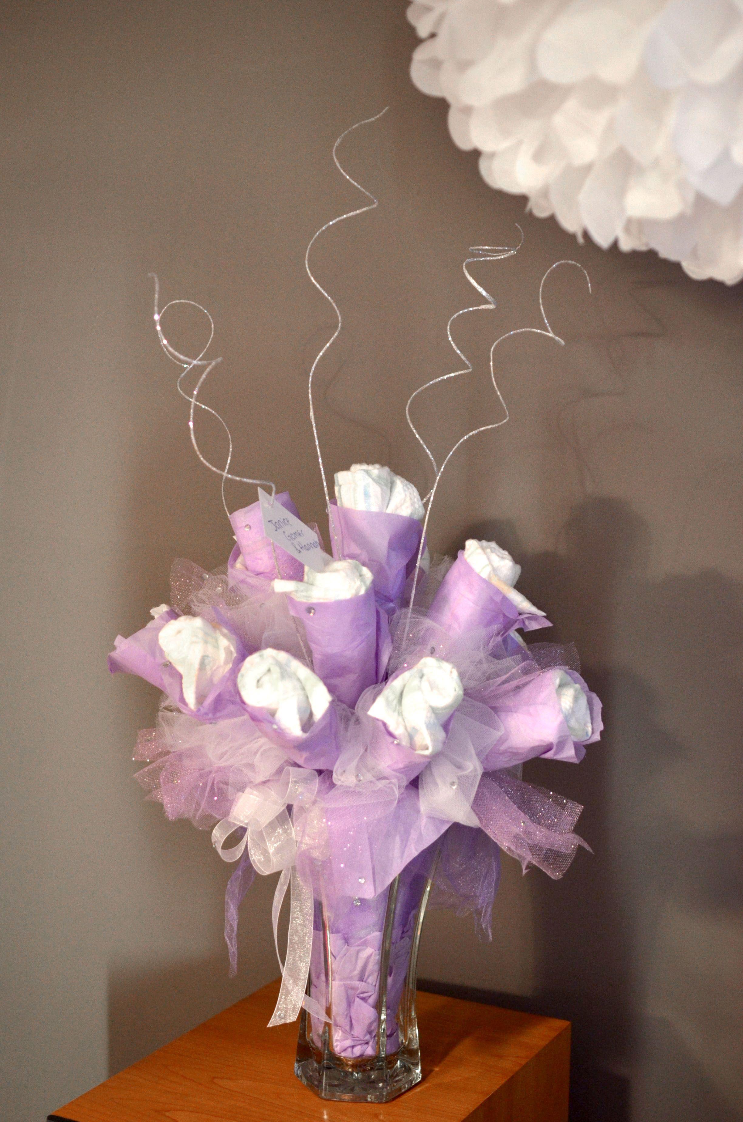 Diaper bouquet adorable ideas pinterest