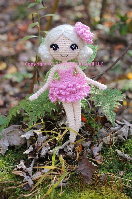 Chrysanna the Albino Fairy Crochet Amigurumi Doll by Npantz22