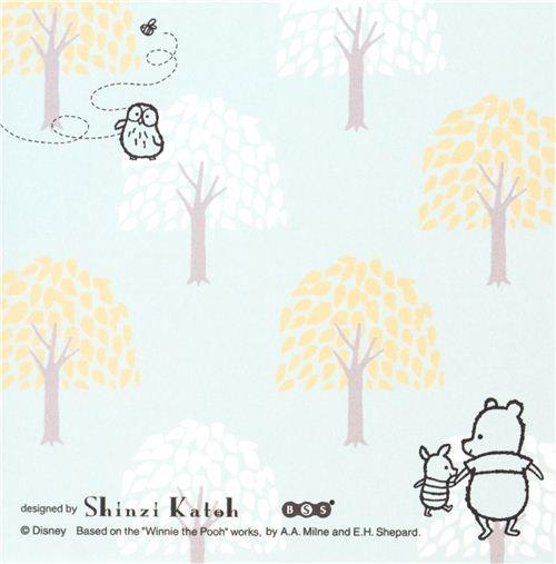 cute Winnie the Pooh bear memo pad paper block pad 5