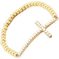 Cross bracelet #SBCGiveaway #SBCSummerofStyle #ShopBellaC