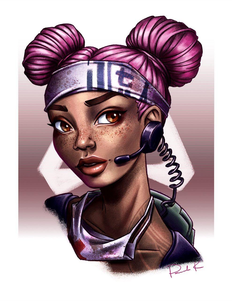 Pin by Paul Robertson on Apex in 2020 Gamer girl, Black