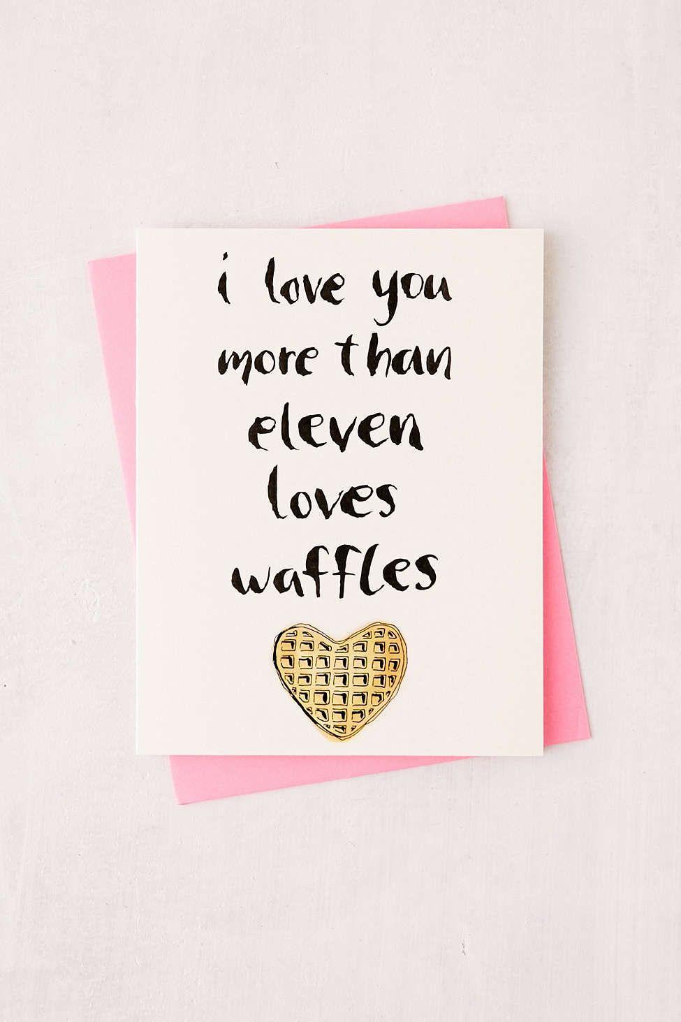 Aspen vanhooser love waffles greeting card holiday pinterest aspen vanhooser love waffles greeting card kristyandbryce Image collections