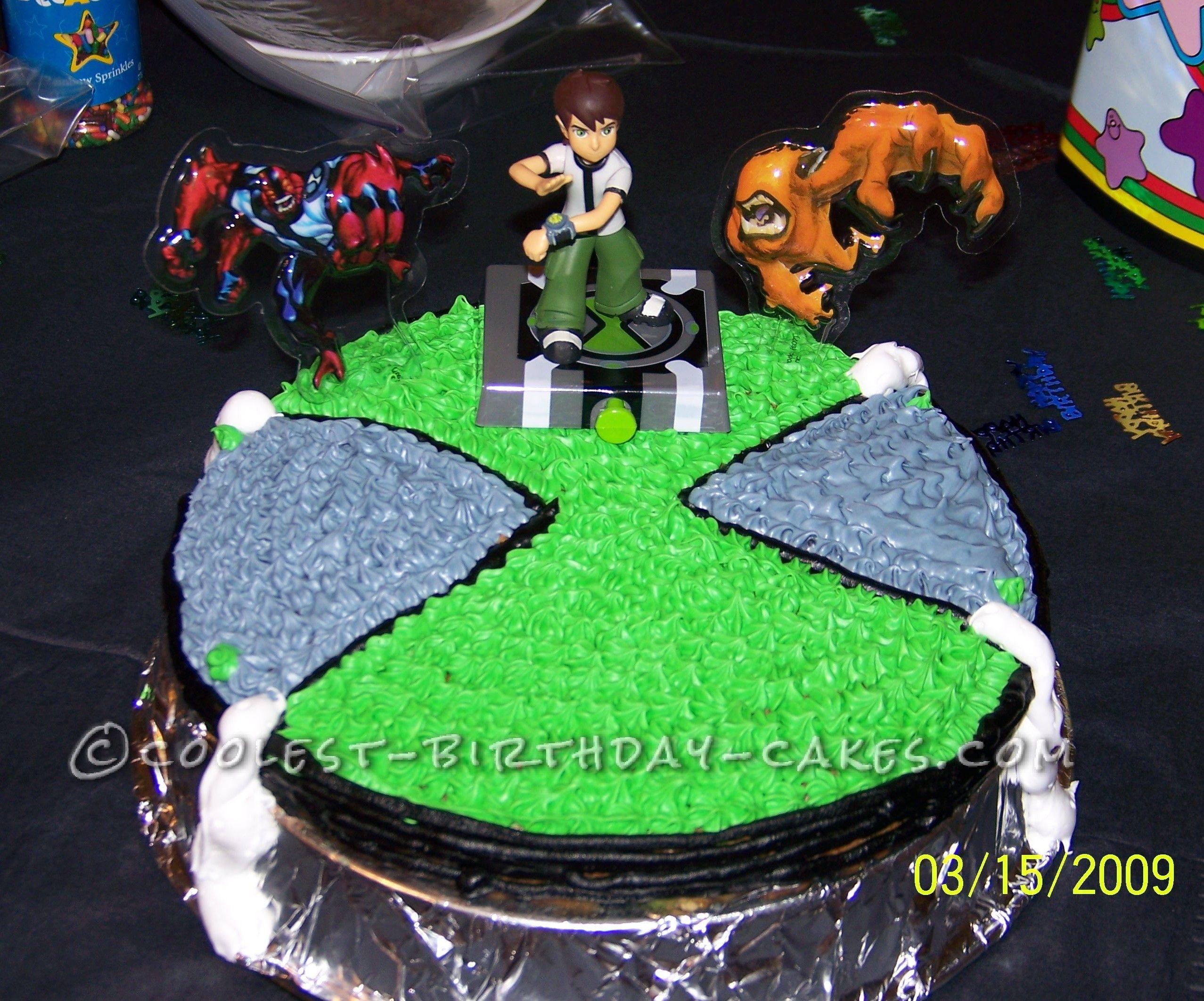 Coolest Ben 10 Birthday Cake... This website is the Pinterest of birthday cake ideas