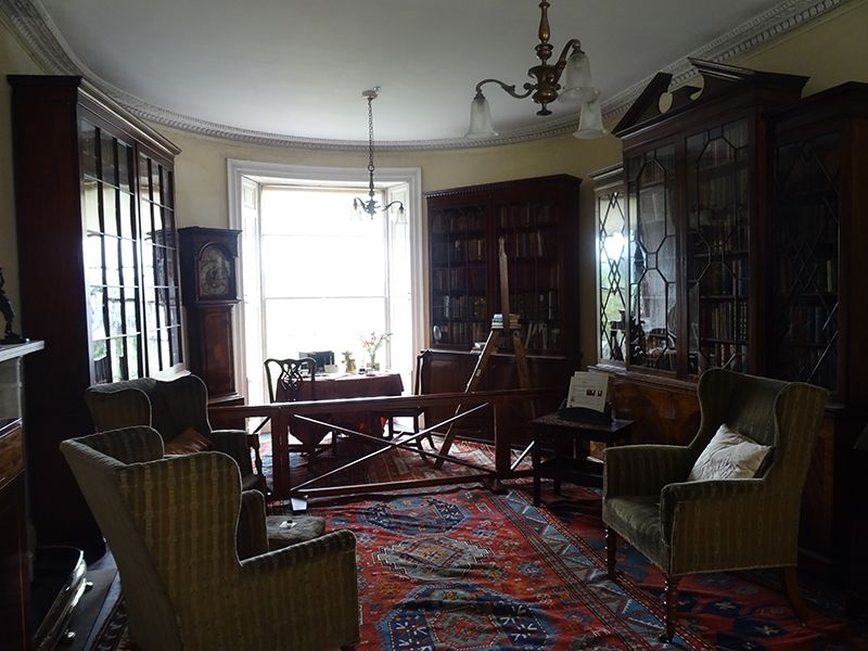 Broughton House drawing room © 2015 Scotiana: