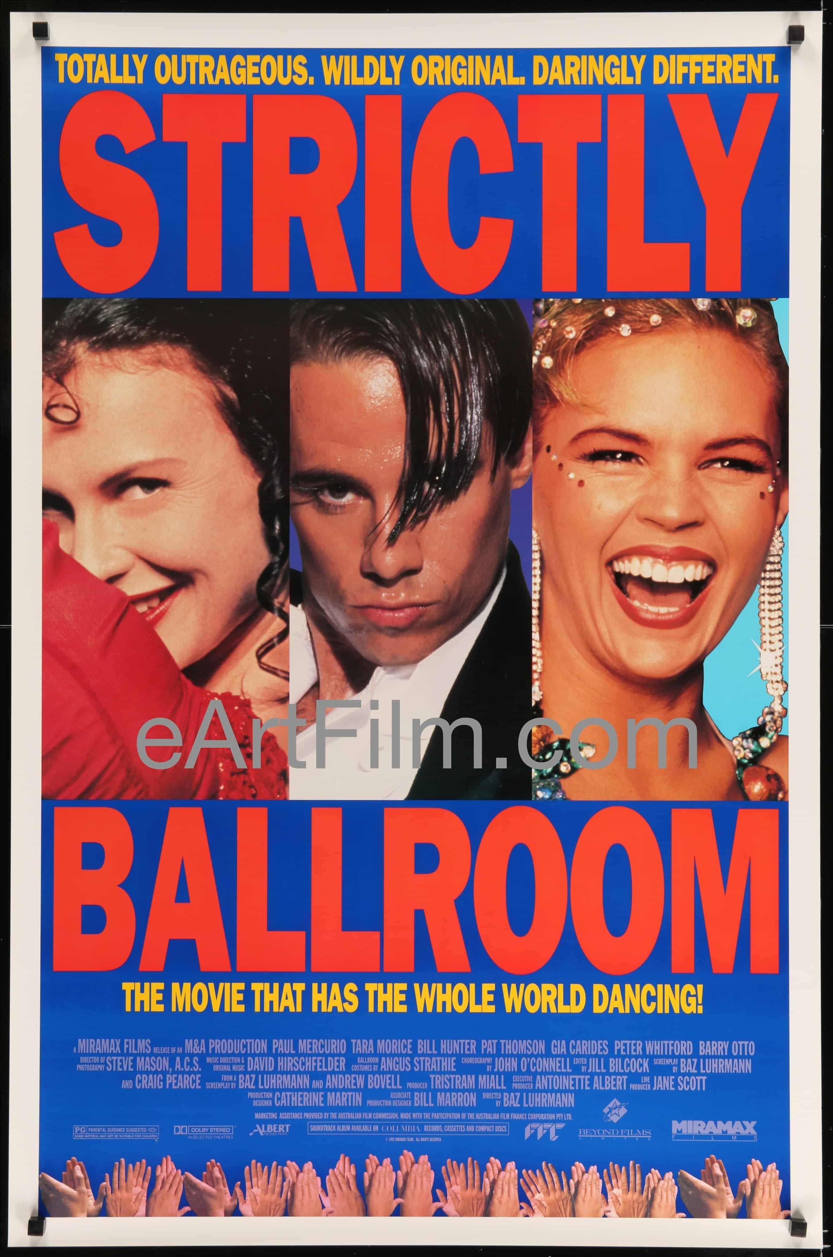 Strictly Ballroom 2  Australian Cinema Movies Posters Vintage  Films