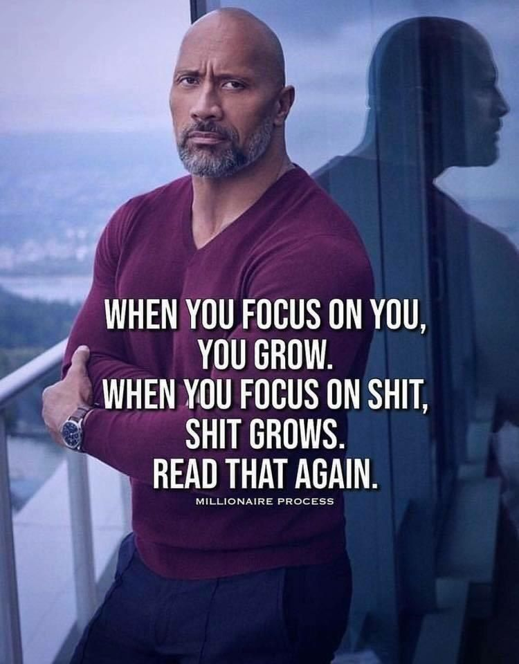 [Image] Focus and Growth