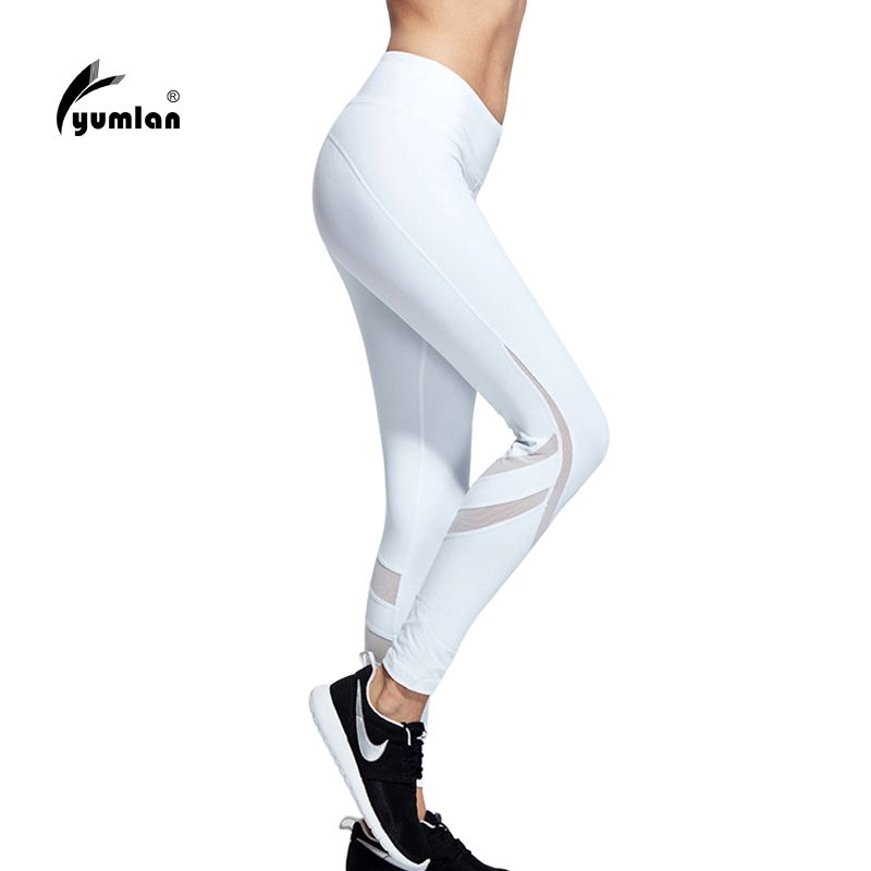 Find More Yoga Pants Information About Yoga Sports Leggings For Woman Sports Tight Black Mesh Yoga Leggi Compression Pants Women Yoga Pants Women Sport Outfits