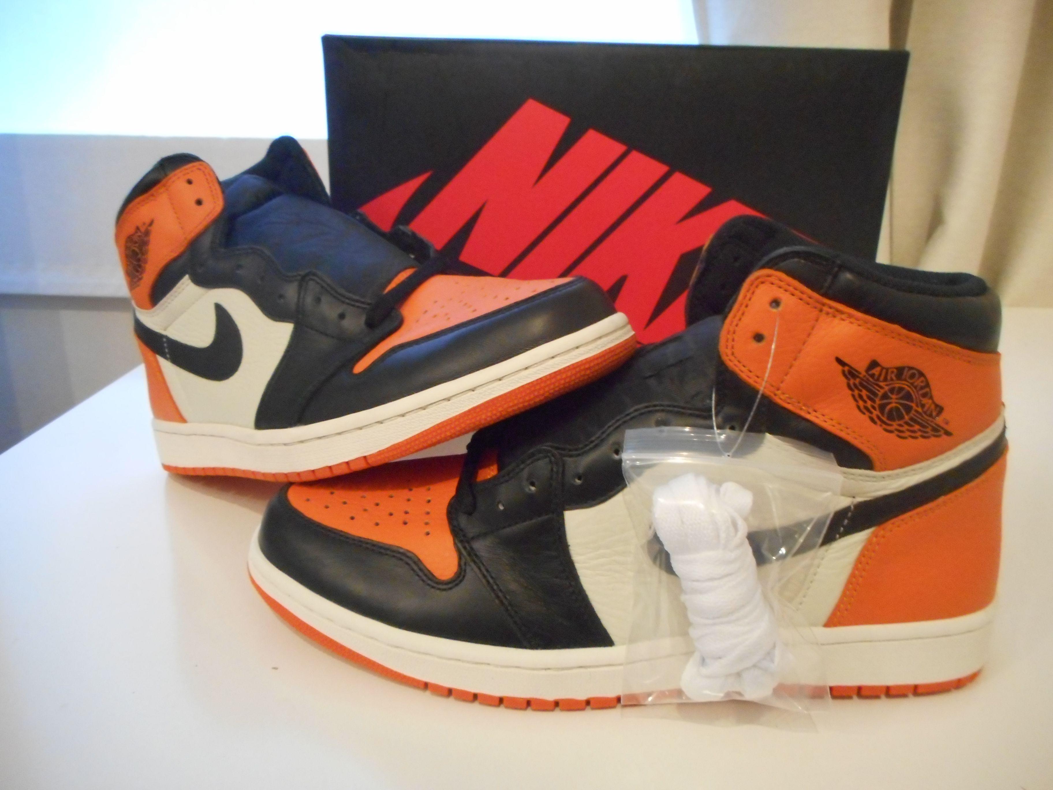 BNIB Air Jordan 1 Retro High SBB Shattered Backboards Shoes Mens Size 11  New DS