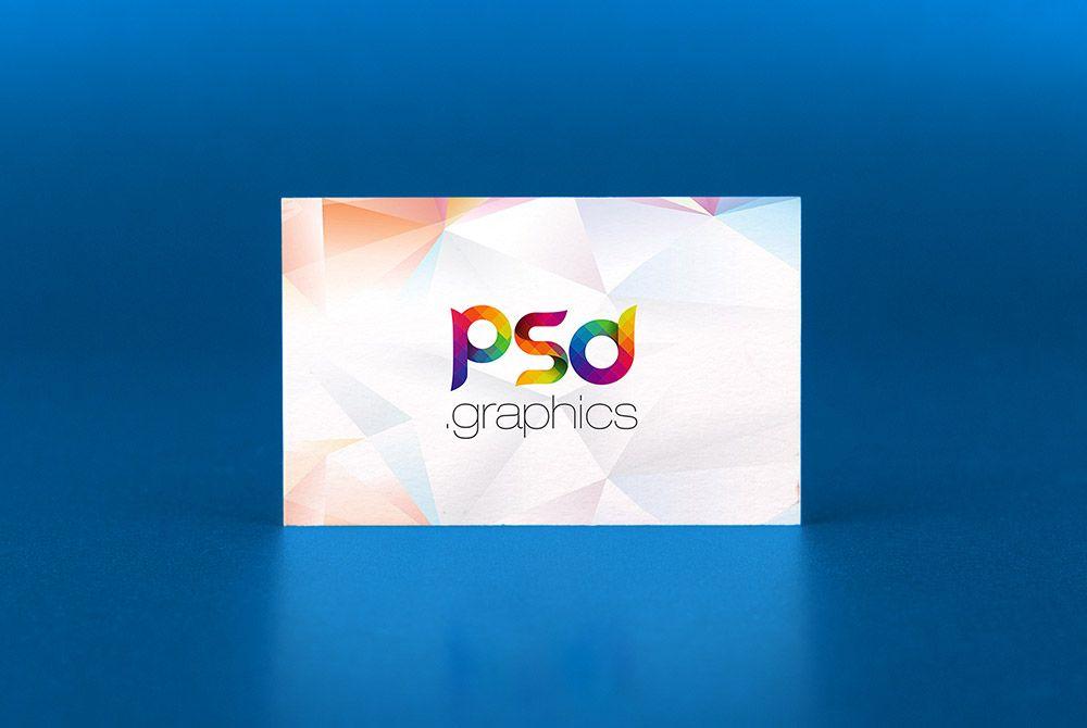 Nice Business Card Mockup Template Psd Business Card Mockup