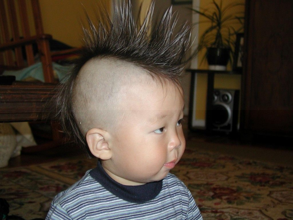 mohawk punk hairstyle for kids   kids hairstyles   pinterest   mohawks
