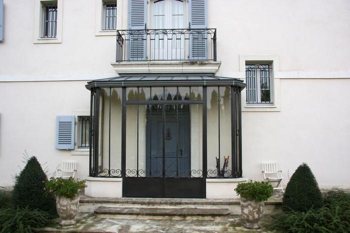 sas d 39 entr e garden en 2019 pinterest house front entrance et sunroom. Black Bedroom Furniture Sets. Home Design Ideas