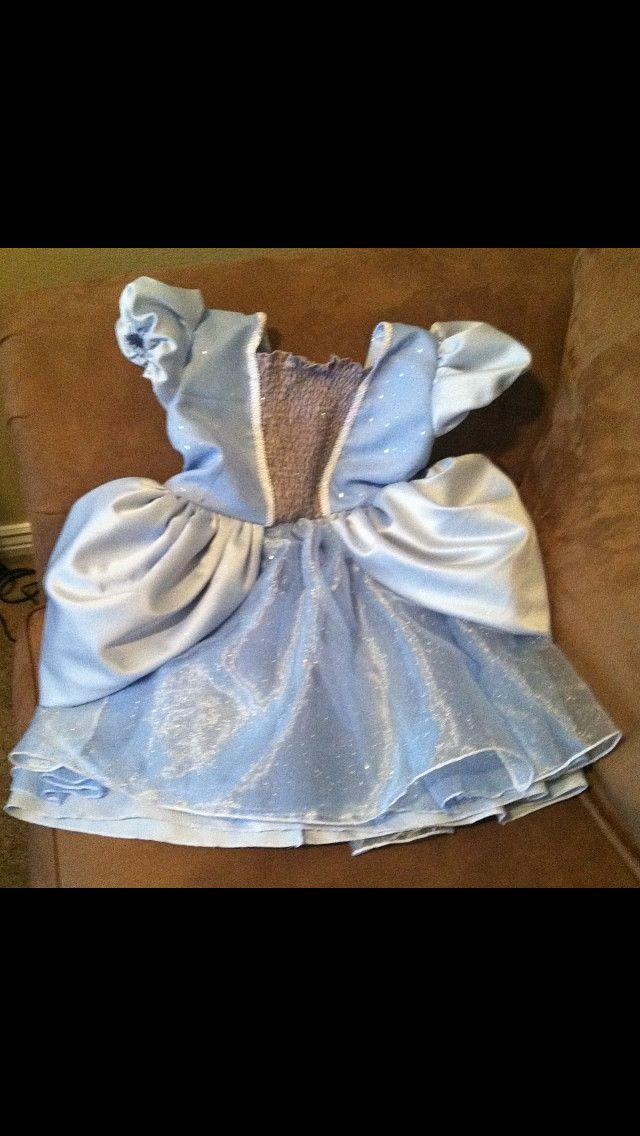 Cinderella dress.