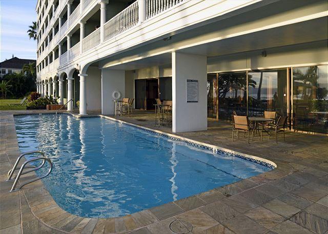 Lahaina Shores Maui Hawaii Vacations Pool Area Indoor Swimming