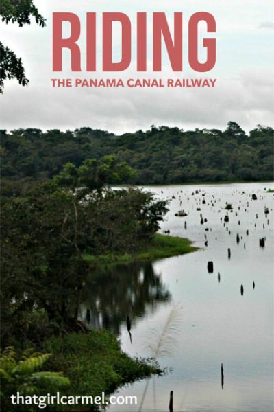 Scenes from a ride on the Panama Canal Railway Co. train from Panama City to Colón.