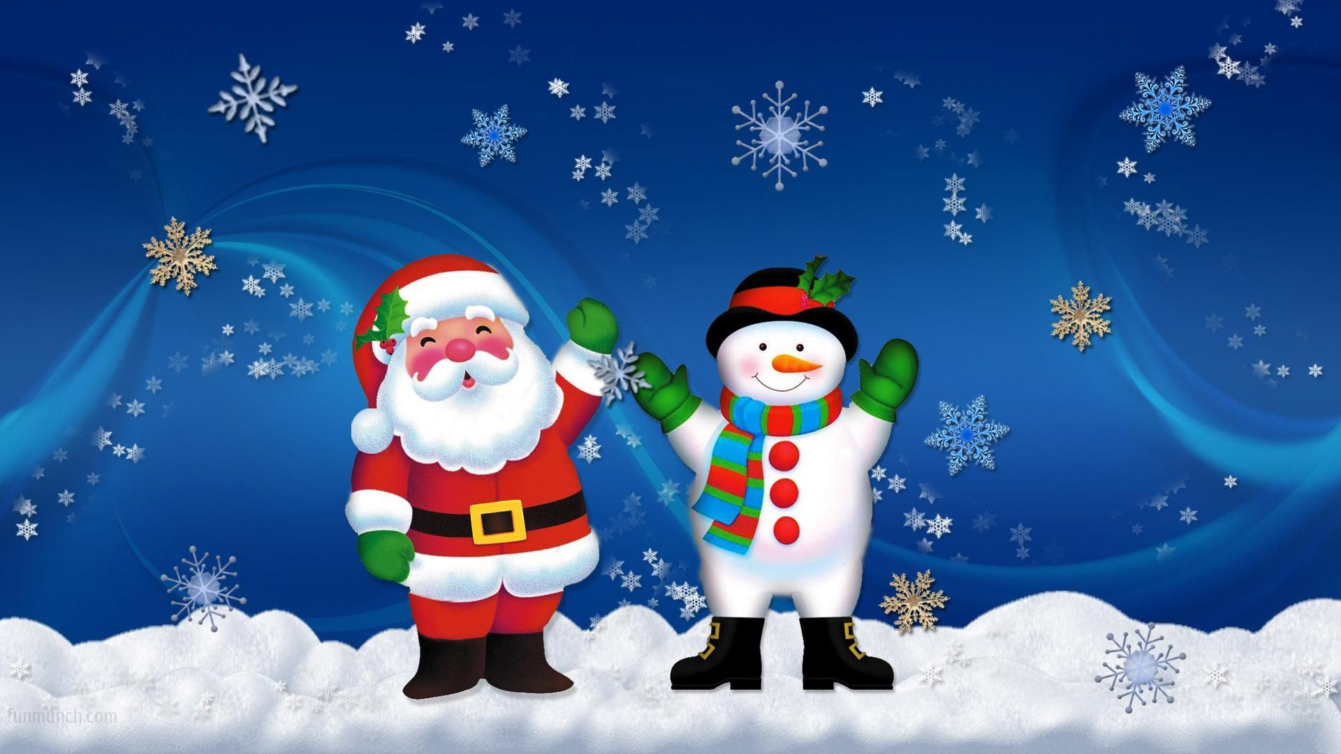 25 Best Colorful Christmas Wallpapers 2014