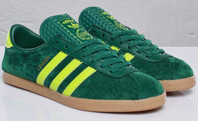 adidas london shoes green