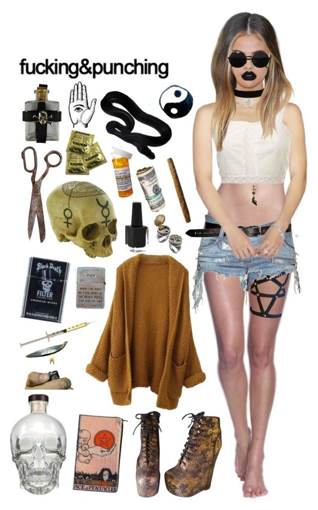 """""""Witches Tïts"""" by angel-of-small-death ❤ liked on Polyvore featuring Jeffrey Campbell, CO, Balmain, Topshop, Rimmel, Lime Crime and Versace"""