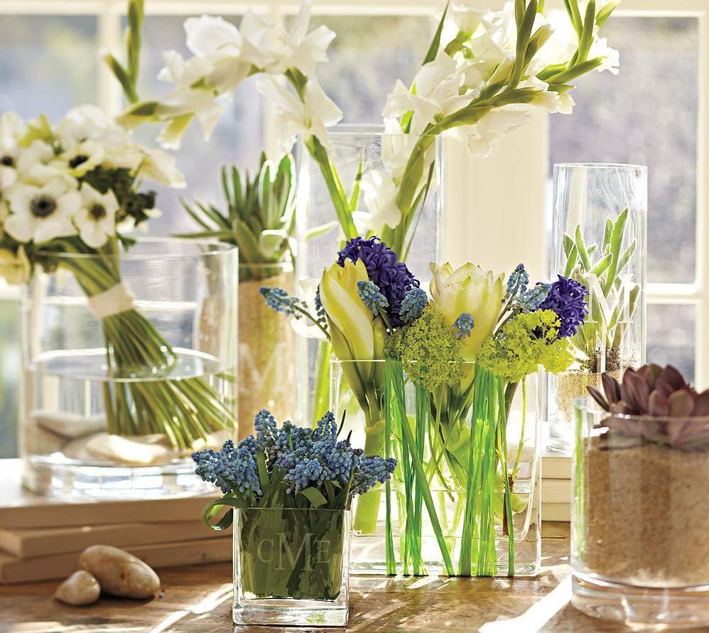 Wiosenne Kwiaty W Domu Rectangular Vase Spring Decor Vase