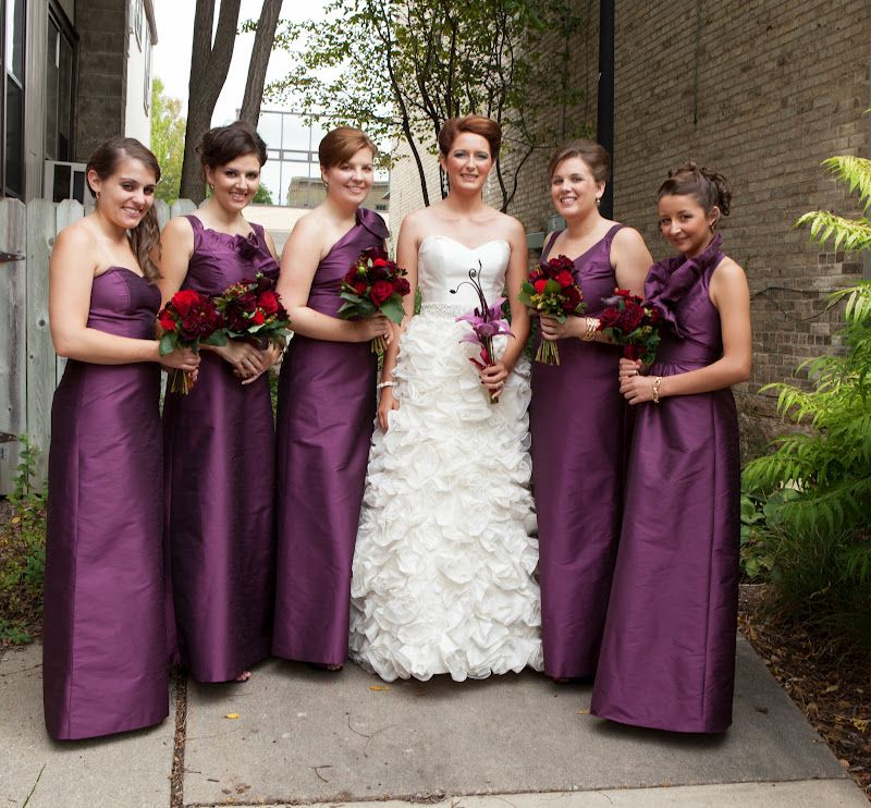 purple bridesmaid fabrics | Purple Bridesmaid Dresses With ...