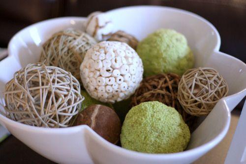 Decorative Balls For Bowl Hedge Apple Decorations  Google Search  Decorations  Pinterest