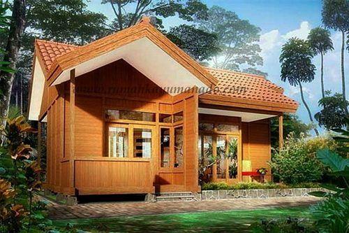 70 Desain Rumah Kayu Minimalis Sederhana dan Klasik | Desainrumahnya.com & 70 Desain Rumah Kayu Minimalis Sederhana dan Klasik ...