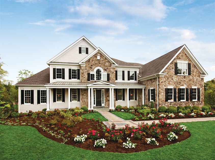 The Henley Manor At Trotters Glen By Toll Brothers Maryland Homes