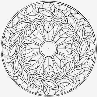 Free printable mandala coloring pages | Because! | Pinterest ...