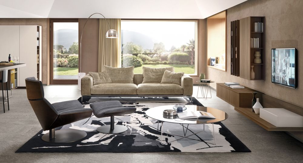 Italian Furniture In Usa Savoye Sofa In Contemporary Sofas Sectionals Contemporary Sectional Sofa Contemporary Living Room Design Contemporary Sofa