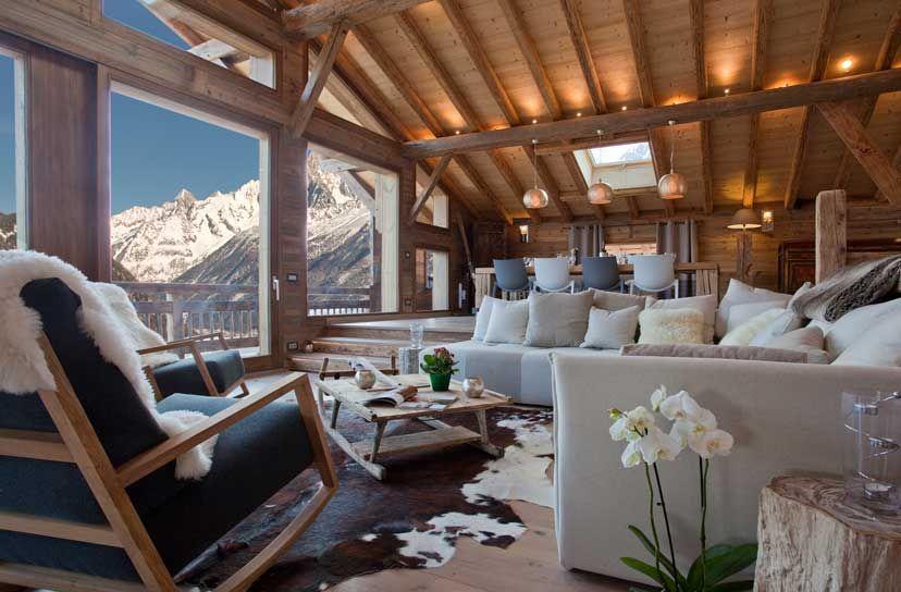Modern Zwitsers Chalet : Chalet amano u chamonix france luxury ski chalets ski