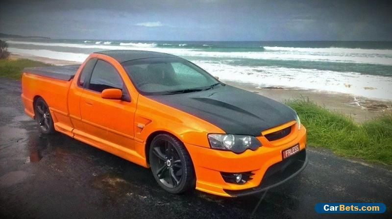 Car For Sale Ford Xr6 Turbo Bf Mk2 Ute 400rkw Thousands In Parts