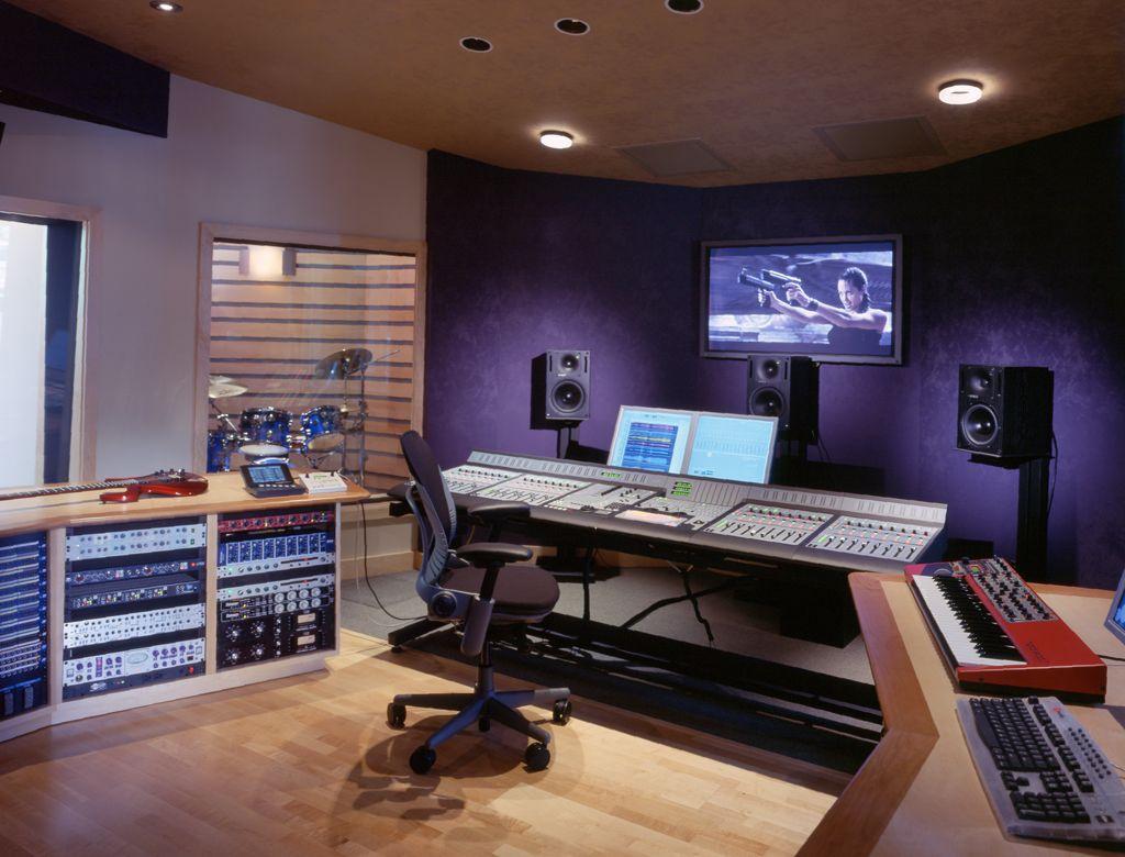 FM Design Recording Studio Portfolio, Recording studio Design ...
