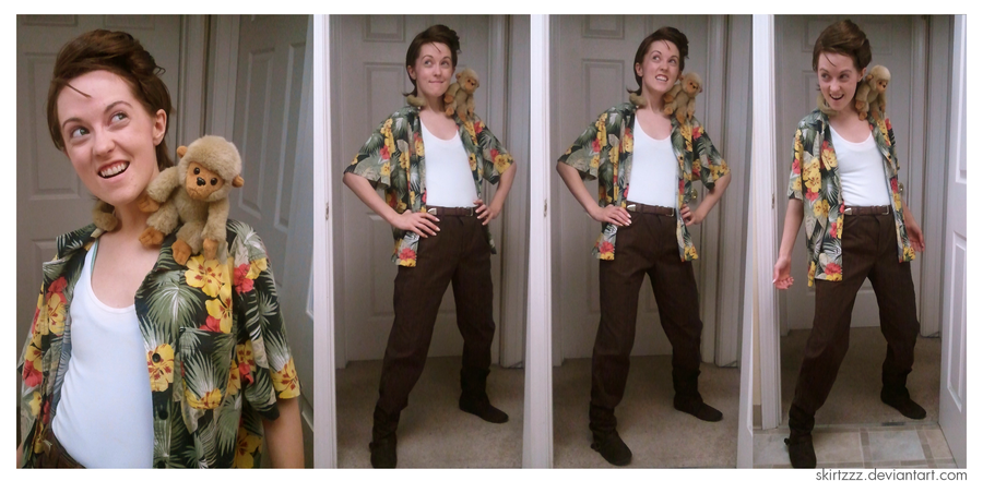 allllllrighty then by skirtzzzdeviantartcom on deviantart ace ventura pet detectivecosplaycostume - Ace Ventura Halloween Costumes