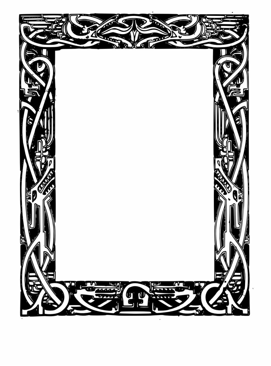 Celtic Border Clipart Celtic Frame Vector Free Celtic Border Png Free Png Images Backgrounds 125027 Pnglo Clip Art Borders Celtic Border Vector Free