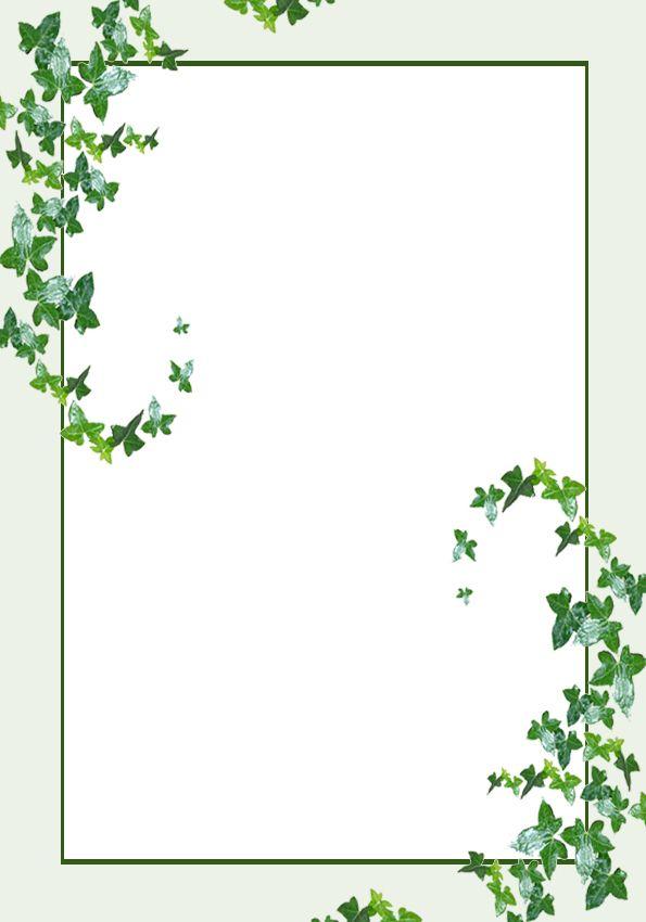 Lit Template Ivy Leaves By Rockgem On Deviantart Ivy Leaf Flower Backgrounds Flower Images