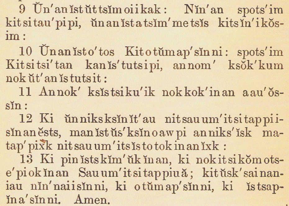 Languageblackfoot Indians Ancestory History Of Origins