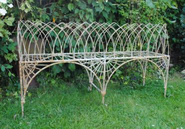Large Victorian Edwardian Style Wire Plant Stand Made In