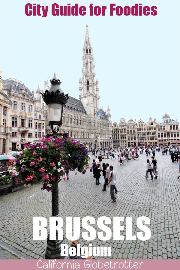 A Self-Guided City Guide to Eating & Drinking Your Way Through Brussels, Belgium