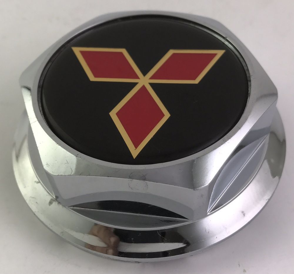 Mitsubishi Wheel Center Cap Chrome P N Pw 28h Mitsubishi Hubcaps Mazda Logo Mitsubishi Vehicle Logos