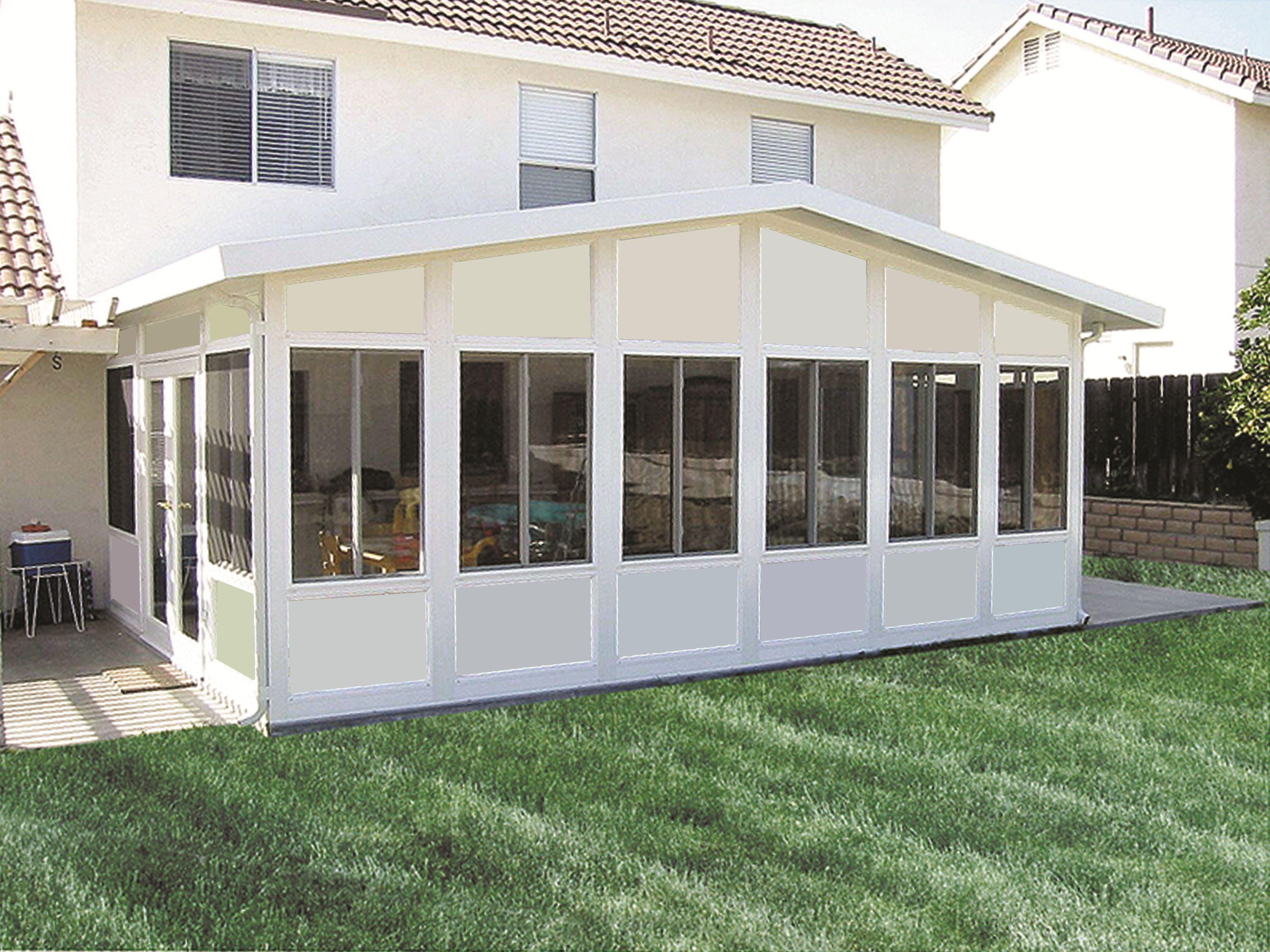 Enclosed patio cost california patio enclosures patio