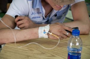 Cairo, Egypt - Terminally Ill Man Receives Treatment